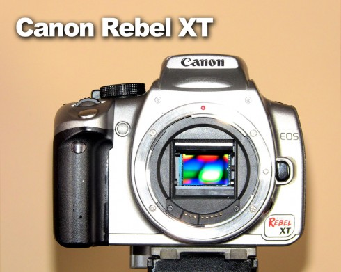 canon rebel xt