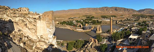 Hasankeyf Panorama 600 HAVADAN FOTOĞRAF ve VİDEO ÇEKİMİ